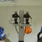 Binocular robot vision head