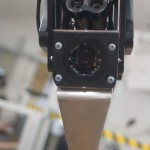 Photometric stereo sensor mounted on the gripper