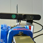 ASUS Xtion Pro Live mounted on the arm.